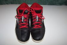 0ec843a1929 REEBOK MEN S SHOE ZIGTECH ZIGFURY BASKETBALL SHOES SIZE 12 US BLACK WHITE  RED.
