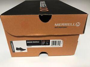 Merrell Women's Dassie Buckle Slip On Size USA 5.5 Espresso # J69082