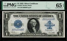 1923 $1 Silver Certificate FR-238 - Graded PMG 65 EPQ - Gem Uncirculated