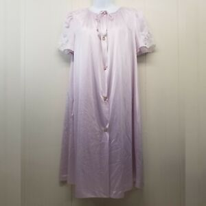 Lorraine SMALL Night Gown Robe Light Purple Sheer 2 Pc Lace Lacy