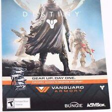 Playstation 3 Day One Destiny Pre-Order Bonus Download Vanguard Armory Bonus DLC
