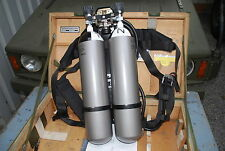 Atemgerät Atemschutzgerät Pressluftatmer AUER Typ DA 300-2 Bundeswehr Feuerwehr