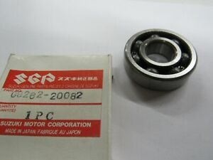 NOS OEM Suzuki Crankshaft Bearing 1977-2000 OR50 Rebel RM60 DS80 09262-20082