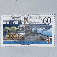 ⛔️ ABART! ⭐️ Bund 1992 Koblenz MiNr 1583 x, 🔴 Ohne FLUORESZENZ! ☘️ Michel 75€