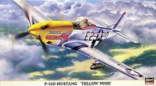 "Hasegawa 09688  North American P-51D Mustang ""YELLOW NOSE""   1/48"