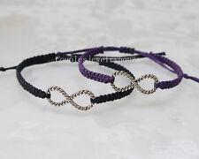 Infinity charm bracelet Couples Bracelet His & Hers Lovers Braclet Wedding Gift