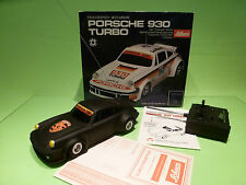 SCHUCO  PORSCHE 930 TURBO - RC - 1:18? - LE MANS  - RARE SELTEN - GOOD IN BOX