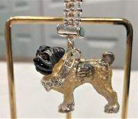 Pug Dog Key Chain by Lauren Spencer NEW