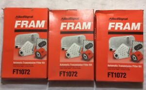 (3) Fram FT1072A Auto Trans Filters - FREE SHIPPING!        1216MN5