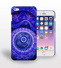 Abstract Blue Pattern Purple Dark Printed Phone Case Cover for mobile phone