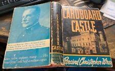 Cardboard Castle: P.C. Wren: 1938: HBDJ: 1st Am Ed RARE