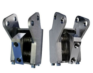 Harley Motor Mount, Front & Rear Dyna, Kinetic Structures, Buy Both and Save $40