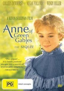 ANNE OF GREEN GABLES: THE SEQUEL DVD 1987 New & Sealed Region 4 Megan Follows TV