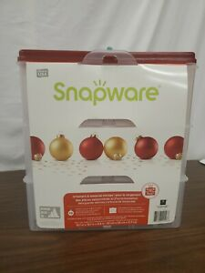 Snapware 48 Ornament Storage Tote A28
