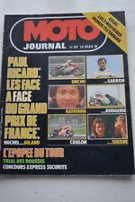 MOTO JOURNAL 317 Test YAMAHA RS 125 DX 125 DTMX Grand Prix Espagne France 1977