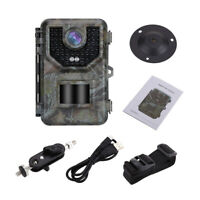 16GB 16MP Trail & Game Hunting Camera IP66 120°Angle Waterproof + SD Card Reader