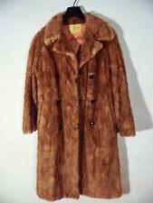 Manteau vintage fourrure en vison couleur camel Femme taille 38