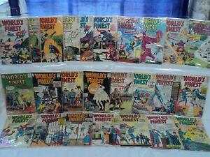 World's Finest Comics #126-150 SET #129 Joker/Luthor Team-Up! DC Comics (s 12062