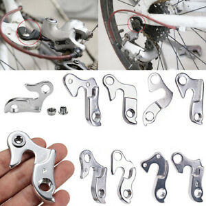 1X MTB Road Bicycle Bike Alloy Rear Derailleur Hanger Frame Gear Tail Hook Parts