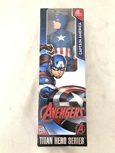 Marvel Avengers Captain America 12 Inch Action Figure Titan Hero Series Toy 2016