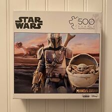 Buffalo Games Star Wars The Mandalorian 500 pc Jigsaw Puzzle Baby Yoda New