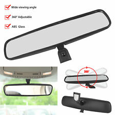 """Adjustable 10"""" Interior RearView Mirror Replacement Day Night for Universal Auto"""