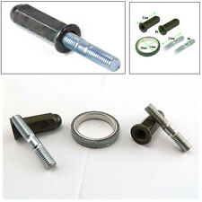 5Set Metal Exhaust Studs Nuts Gasket Kit For 50cc 125cc 150cc Motorcycle Scooter