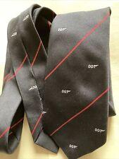 Vintage 1989 Eon Productions 007 James Bond Tie
