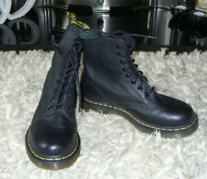 DR MARTENS boots PASCAL SOFT LEATHER sz 5 - IMMACULATE
