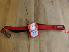Dog Collar and 4 Foot Leash Set KONG Red Padded Comfort Training Walk NEW
