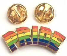 Rainbow Pride LGBT Gay Lesbian Enamel Lapel Pin Badge