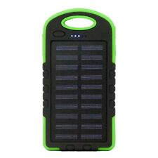 Power Bank Solar USB Charger Shock Proof Drop Resistant Emergency LED Light