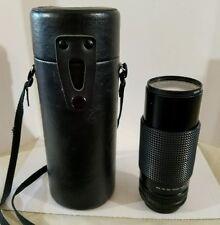 Sears Hoya Multi-Coated 1:4.0 f=80-200mm 55ø Auto Zoom Camera Lens w/case