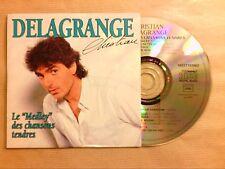 RARE CD SINGLE 2 TITRES  / PATRICK SEBASTIEN / C'EST CHAUD / TRES BON ETAT