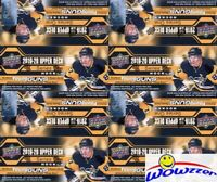 (4) 2019/20 Upper Deck Series 1 Hockey 24 Pack Retail Box-24 YOUNG GUNS+4 JERSEY