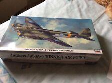 "Hasegawa 00939 1:72 Scale Junkers Ju88A-4 ""Finnish Air Force"""