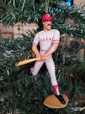 Juan Gonzalez Texas Rangers MLB Baseball Christmas Tree Ornament Gray Jersey