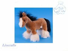 Shire Horse Plush Soft Toy by Dowman Soft Touch. Sold by Lincrafts. RB553
