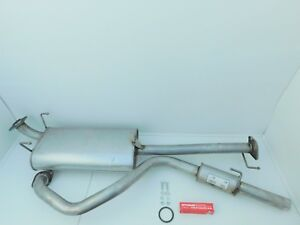 TOYOTA HILUX SURF 3.0TD KZN185 1995-2000 CENTER REAR EXHAUST BOX & TAIL PIPE