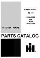 International Farmall 3388 3588 3788 Tractor Parts Catalog Manual