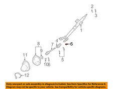 KIA OEM 01-05 Rio Steering Column-Joint Nut K909010811B