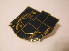 CR9) 1988 Western States Pin Trade Ontario Map Lions Club Pin