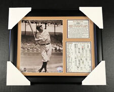 BABE RUTH 1932 WORLD SERIES HR CALLED SHOT 8X10 FRAMED PHOTO NEW YORK YANKEES