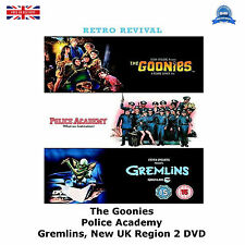 The Goonies, Police Academy, Gremlins (2006) BRAND NEW AND SEALED UK R2 DVD
