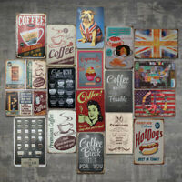 Vintage Metal Tin Sign Poster Plaque Bar Pub Club Cafe Home Plate Wall Decor Art