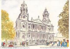 Postcard: Les Bott - St Paul's Cathedral, London (Pilkington Family Trust)