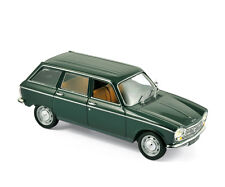 NOREV 472450 - Peugeot 204 Break 1969 Antique Green  1/43