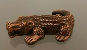 Vintage Southern Comfort Crocodile Metal Key Ring
