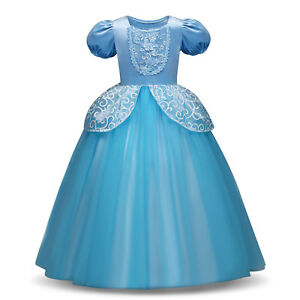 Princess Sofia Rapunzel Costume Cosplay Party Long Gown Dress up for Kids Girls