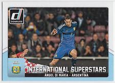 ANGEL DI MARIA 2015 Donruss Soccer International Superstars #3 Argentina